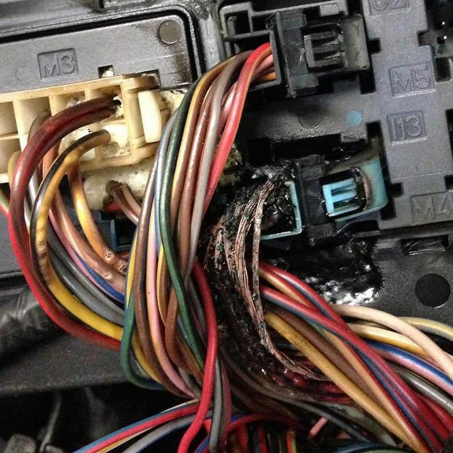 Ремонт электропроводки автомобиля